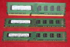 RAM DDR3 for Desktop, 6GB (SET 3x2GB) Samsung PC3-8500U (M378B5673EH1-CF8)