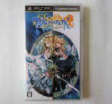 RAGNAROK TACTICS  [ GungHo ] Sony PSP Japan