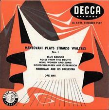 Excellent (EX) Sleeve 45 RPM Vinyl Records 1960s DVDs