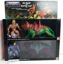 MOTU, Commemorative Battle Cat & He-Man, Skeletor & Panthor, MISB, sealed box