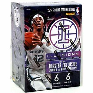 2019-2020 Panini NBA Illusions Exclusive Basketball Blaster  Box Factory Sealed!