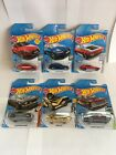 HOT WHEELS 2019 LOT OF 6 SPEED BLUR SUPER CHROMES MUSCLE MANIA VOLKSWAGEN