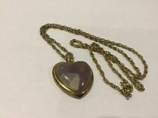 Heart Natural Amethyst Costume Necklaces & Pendants
