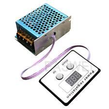 Motor Speed Controller Module Voltage Regulator Dimmer Withfan 4000w 110v Ac Scr