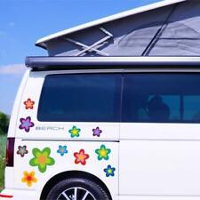 13 Aufkleber Auto Hippie Blumen Flower Power Sommer VW