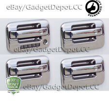 For 2004- 2010 2011 2012 2013 2014 Ford F150 Chrome Door Handle Cover w/Keypad