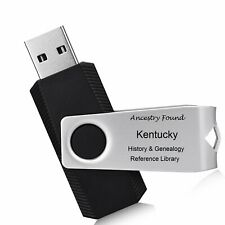 KENTUCKY - History & Genealogy -104 old Books on FLASH DRIVE - Family County KY