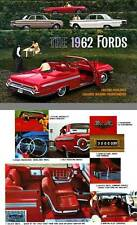 Ford 1962 - The 1962 Fords - Falcons, Fairlanes, Galaxies, Wagons, Thunderbirds