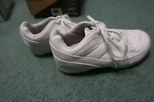 Kaepa Hyperflyte Youth size 13 white cheer cheerleading tumbling flyer shoes