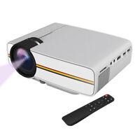 A61D TOP! LED Laser Projektor Beamer Cinema Heimkino HD 1080p USB SD AV HDMI VGA