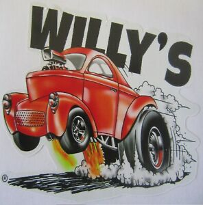Decals - Willy's by RatRodRalphy