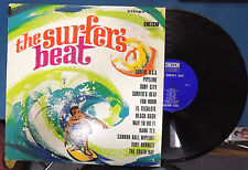 "CALVIN COOL & THE SURF-KNOBS ""The Surfer's Beat"" CLS 103 Stereo Rock LP"