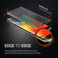 Full Coverage 9H Tempered Glass Film Screen Protector Samsung Galaxy S7 Edge