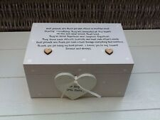 Shabby Personalised Chic Best Special Friend Trinket EXTRA LARGE Gift Memory Box