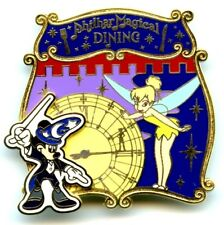 Tokyo Disney Resort Tinker Bell & Sorcerer Mickey Philharmagical Dining Pin