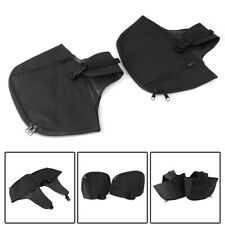 Soft Lowers Chaps Leg Warmer Cover Bag for Harley Touring Road King Engine Guard