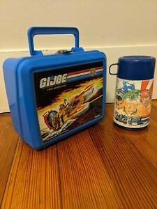 GI Joe Plastic Lunch Box with Thermos - *Vintage*