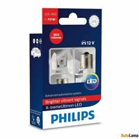 Philips P21W LED ultinon Rojo Bombilla 1,9W BA15s Luz de Freno 11498ULRX2 Twin