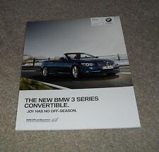 BMW 3 Series E93 Cabrio OPUSCOLO 2010 325i 330i 335i 325d 330d se & M Sport