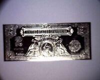 Beautiful Silver Coated $2 Commemorative 2000 Two Dollar Bill