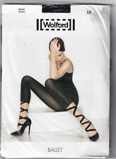 Collant  WOLFORD BALLET coloris Sahara/Black. Taille M. Tights.