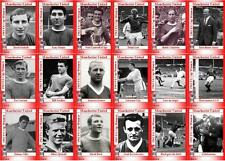 Manchester United 1963 FA Cup winners football trading cards