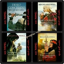 4x1 the warriors maxwell books megan maxwell-epup pdf mobi-no paper-spanish