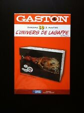 "NEUF SOUS CELLO !! FRANQUIN * GASTON LAGAFFE * DIORAMA 3D ""LES ARCHIVES"" N°/500"