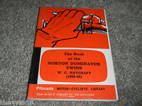 1955-1965 55 65 NORTON DOMINATOR TWINS HAYCRAFT OWNER OWNERS OWNER'S MANUAL