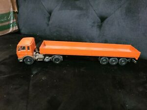 NZG Modelle 186 Mercedes Benz Truck with Trailer 1/50 scale West Germany RARE