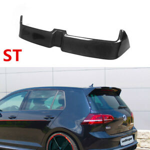 For Volkswagen Golf 7 VII MK7.5 GTI R20 Roof Spoiler Wing Carbon Fiber O Style