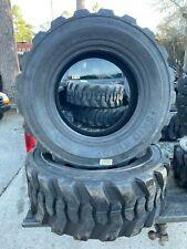 Set Of 4 Bobcat Tires 12x165 12 Ply Qsii 0748