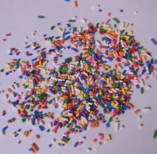 Birthday Party 4oz Cake Cupcake Sprinkles Quins Colors Holiday Baking Decoration