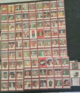 Stimorol 1990/91Cricket Cards Full Set of 84