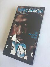2Pac Tupac Shakur collector's item - TUPAC VS (still sealed) VHS