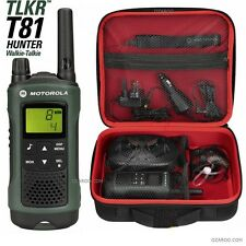 Motorola Talker TLKR T81 Hunter 10km Walkie Talkie with Case, Torch & Earpiece