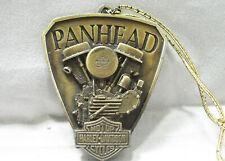 Harley Davidson Metal Christmas Ornament 1948 Panhead 2000 Made in USA