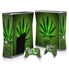 XBOX 360 Slim Skin Sticker Decal Cover 4 Choices MARY-JANE WEED CANNABIS