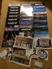 THW Kiel, Paket, 2008/2009, 29x Zeitung, Mannschaftskarte, Aufkleber, Autogramm