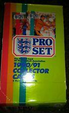 1990/91 Pro Set Soccer cards Unopened Wax Box Sealed English 48 packs