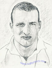 Rolando Martin Argentina De Arte Original Rugby World Cup