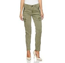 Calvin Klein Jeans NEW Green Women Size 30X26 Ankle Skinny Cargo Pants $92 #388