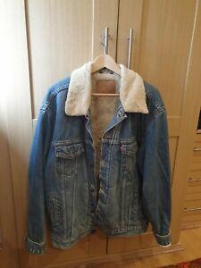Levi's Sherpa Trucker Men's Jacket, Mays - Size XL