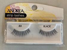 Andrea's Strip Lashes Fashion Eye Lash Style 53 Black