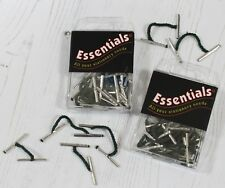 Treasury Tags Metal Ended 2 Packs With Mix of 25mm and 50mm Sizes per Pack