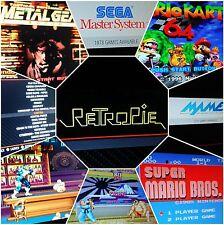 Retropie Overclocked 64GB Micro Sd Card  Raspberry Pi 2/3 19,000 Games