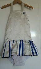 Bnwt wovenplay girls onsie silk playsuit tutu size 4-5