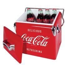 Koolatron Coca-Cola 13-Litre Capacity Vintage Ice Chest in Red, CCVIC-13 New