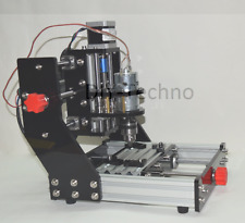 Micro 3 Axis CNC Router Milling Engraving Machine PCB wood with 500mw Laser