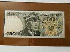 POLOGNE / POLAND - 50 Zlotych 1979 Pick 142b - NEUF / UNC